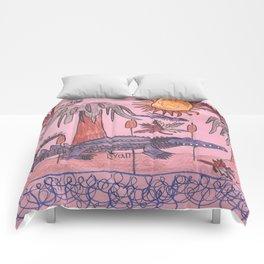 Swamp Hunt Comforters