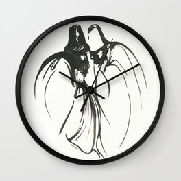 Dervish Whispers Wall Clock