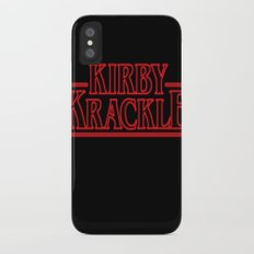 Kirby Krackle - Upside Down Logo Slim Case iPhone X