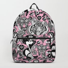 Pink Halloween Backpack