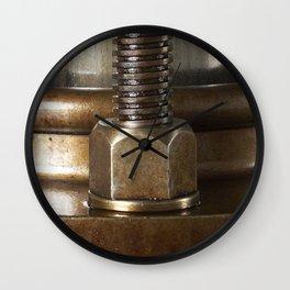 Screw yoo Wall Clock