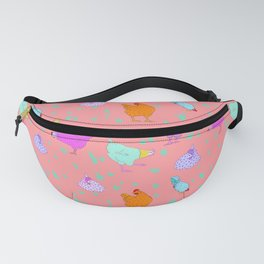 Party Chickens Fanny Pack