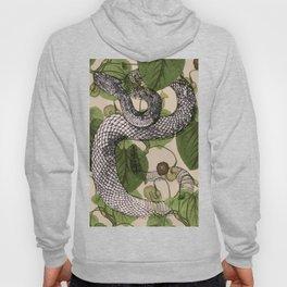 Snake in garden vine Hoody