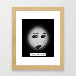 happynew moon Framed Art Print