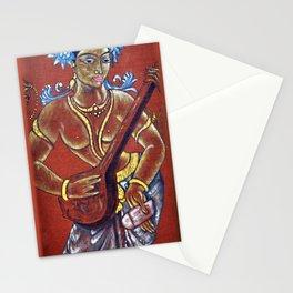 Saraswati - Musical Stationery Cards