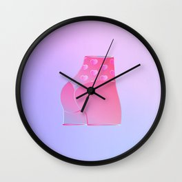 Kween of Hearts Wall Clock