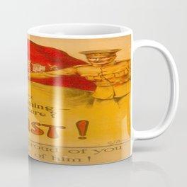 Vintage poster - Canadian Recruiting Coffee Mug
