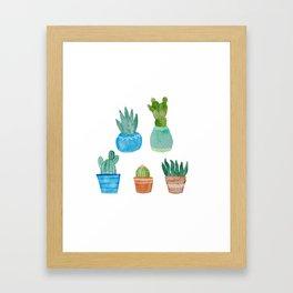 Cactus Club Framed Art Print