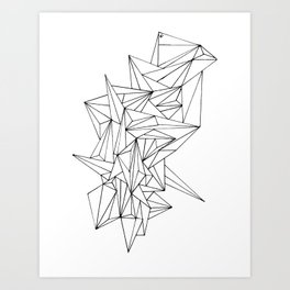 Geometric on the N Art Print