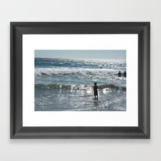 Little Boy Innocence  Framed Art Print