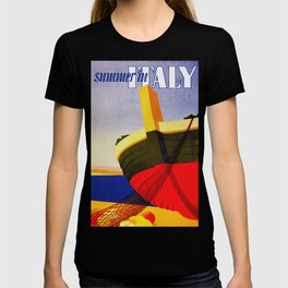 Summer in Italy - Vintage Travel T-shirt