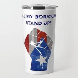 Boricuas Stand Up Travel Mug