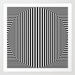 Bulge I - Digital Art Art Print