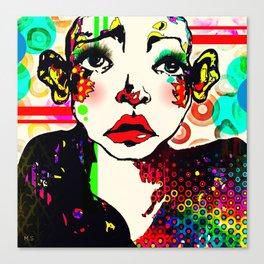 Pop art 7 Canvas Print