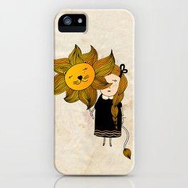 Leo Girl iPhone Case