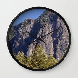 Wonderful Mountains Wall Clock