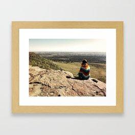 Poncho Framed Art Print