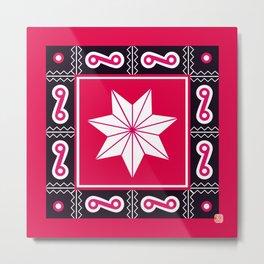 Cherokee Star Metal Print