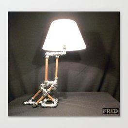 Articulated Desk Lamps - Copper and Chrome Collection - FredPereiraStudios_Page_04 Canvas Print