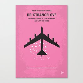 No025 My Dr Strangelove MMP Canvas Print