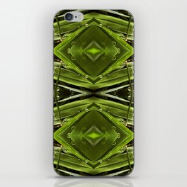 Dew Drop Jewels on Summer Green Grass iPhone Skin