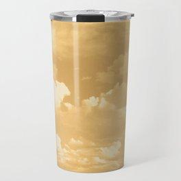 Clouds in a Golden Sky Travel Mug