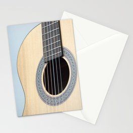 Classical Guitar Stationery Cards