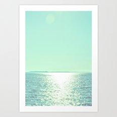Summer Shine Art Print