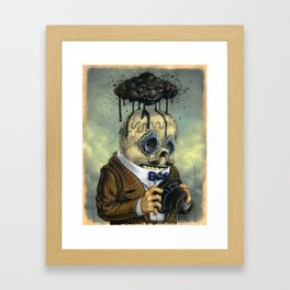 Bad Calavera Time Framed Art Print