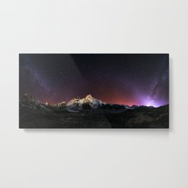 Everest Nightscape Metal Print