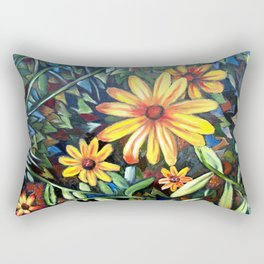 """Petals"" Rectangular Pillow"