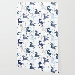 Running Unicorns Wallpaper