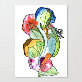 Flower Heart Canvas Print