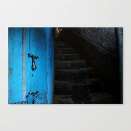 Stairway to Gangtok Canvas Print