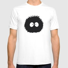 Soot Ball - Susuwatari White SMALL Mens Fitted Tee