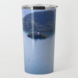 Island on the Lake Travel Mug