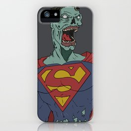 Super-Zombie iPhone Case