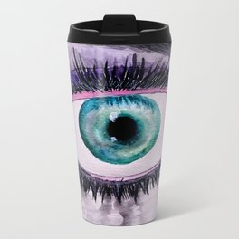 You Are Blind, But I Am Not Metal Travel Mug