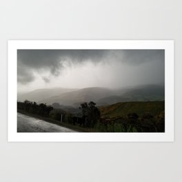 Freezing Rain During Another 7 Hour Long Walk Art Print