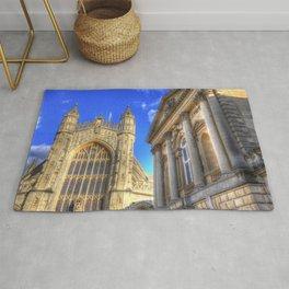 Bath Abbey And Roman Baths Rug