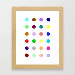 Bromazepam Framed Art Print