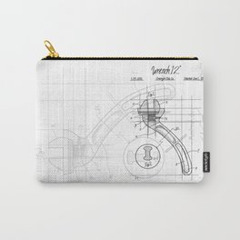 Industrial wrench patent Carry-All Pouch