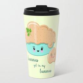 Hummus Get In My Tummus Travel Mug