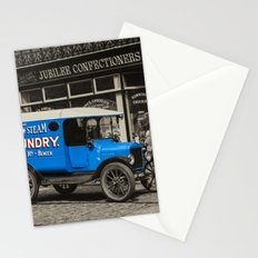 Steam Laundry Van Stationery Cards