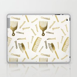 Good Hair Day – Gold Palette Laptop & iPad Skin