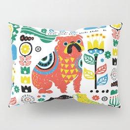Scandinavian English Bulldog Pillow Sham