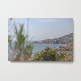 Chilling at the Cote d'Azur Metal Print