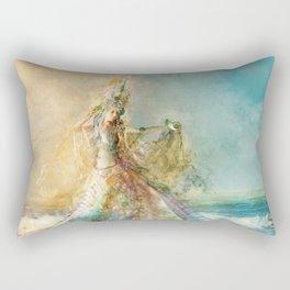 Shell Maiden Rectangular Pillow