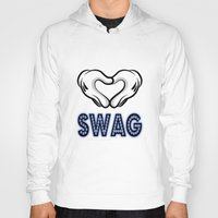 swag Hoodies featuring SWAG by Gold Blood