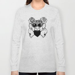 Rock Out Monkey Boy Long Sleeve T-shirt